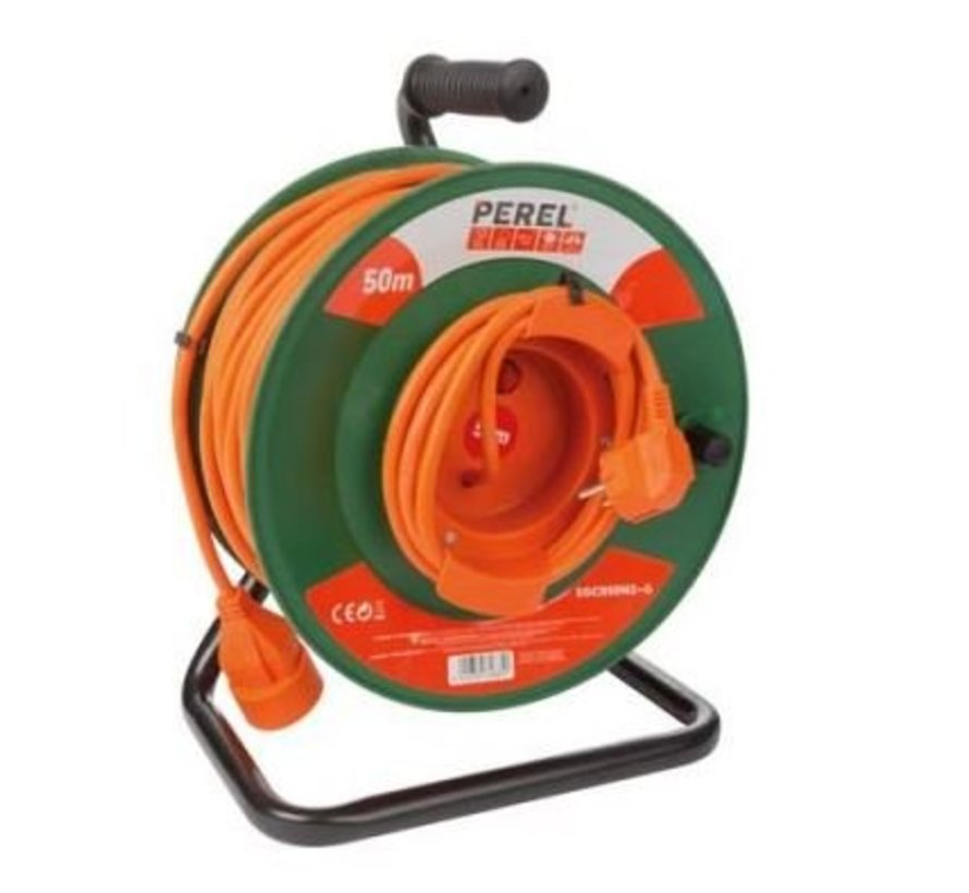 Cable reel 50 m / extension cord