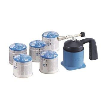 CFH LM1000 lampe à souder  et 5 cartouches de gaz