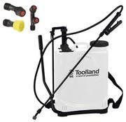 Toolland Rucksack-Drucksprüher 16 Liter Rucksack | Unkrautspritze