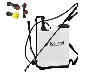 Toolland recoiled pressure sprayer 16 liter sprayer weed sprayer