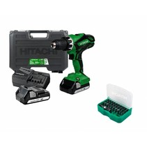 DS18DJL (LC) Cordless Drill, 18 Volt Li-Ion with case + 31-piece Bit - Box