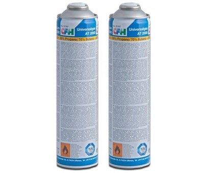 CFH PZ9500 Deluxe gas onkruidbrander met Piezo ontsteking met een gasfles