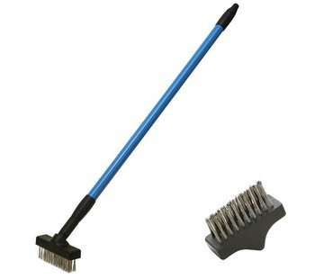 CFH telescopic weed brush set Joint brush incl. 2 brushes