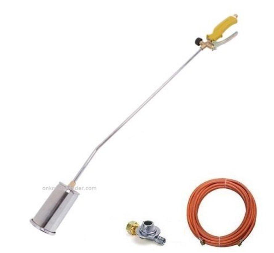 Désherbeur thermique 1 brûleur + tuyau gaz 5 m + détendeur 2,5 bar