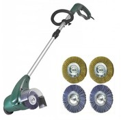 Eurom weed brush 400 watt with 2 plastic & 2 metal brushes