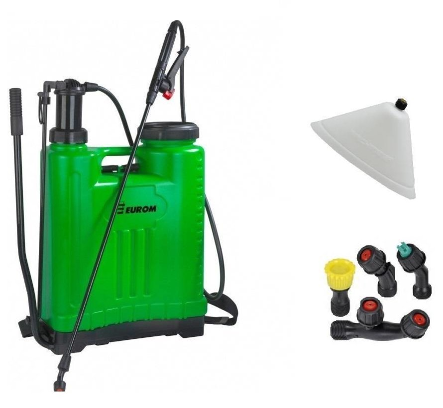 1809 Backpack pressure sprayer / weed sprayer, 18 liters