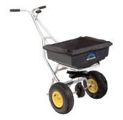 Spyker Push spreader - 36 kg - frame in stainless steel - plastic container