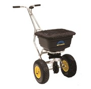 Spyker PUSH-SPREADER - 22 kg - SUPPORT IN STAINLESS STEEL - PLASTIC BIN