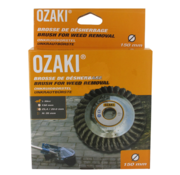 Ozaki Weed brush (150 mm, H 35 mm, bore 20 / 25.4 mm)