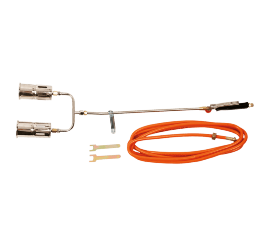 44E121 Dual gas weed burner, 110 kW with 5 m hose