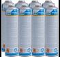 24 Mal CFH Gasflasche zur Unkrautbrenner, Gasbrenner und BBQ leichter