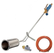 CFH ST1000 weed burner with pressure regulator - roof burner