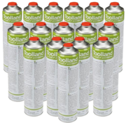 Toolland 24x Universal gas cylinders, 600 ml for gas burners