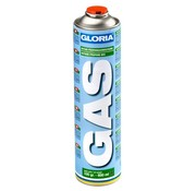 Gloria Universal gas cylinder, threaded connection, 600 ml