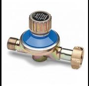 "Kemper 1 - 4 bar Adjustable pressure regulator, 3/8"" thread"