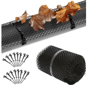 Lifetime Garden Gutter guard / leaf catcher, 6 meters