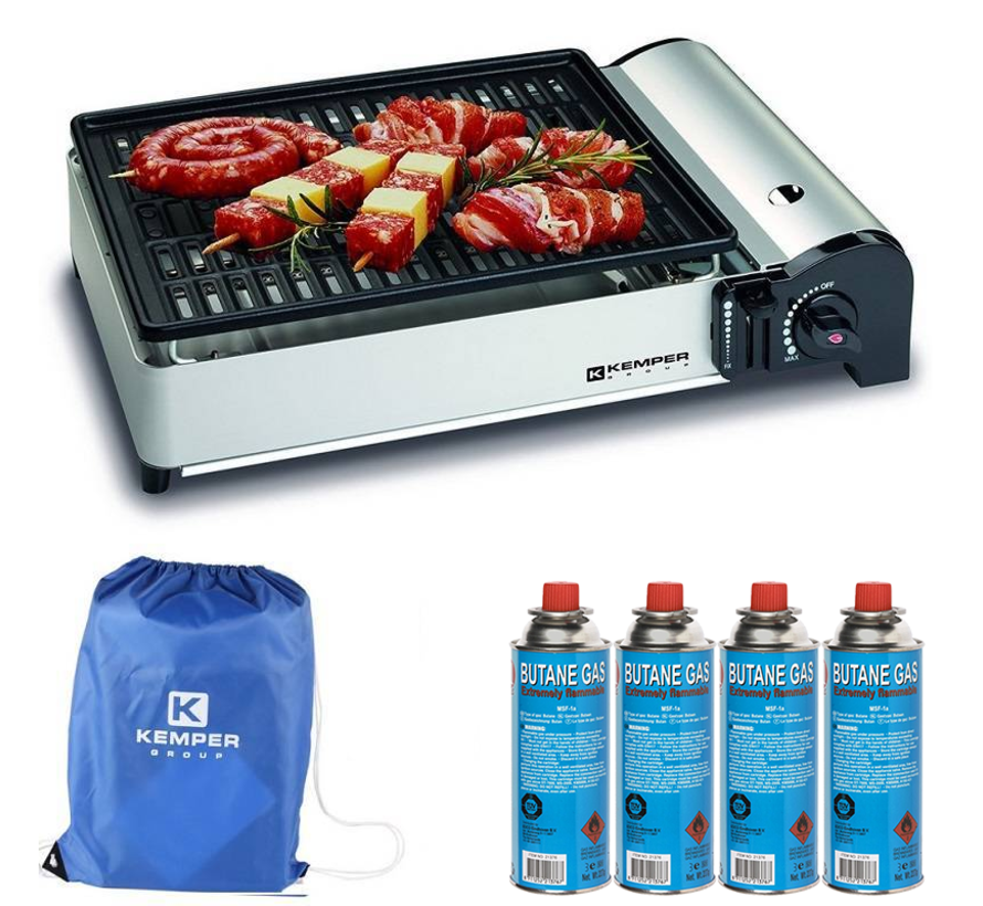 portable smart gas barbecue | Table barbecue Camping cooker