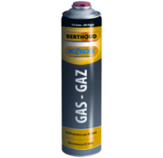 Hozelock 4x Gas Cylinder, 600 ml / 330g, threaded connection