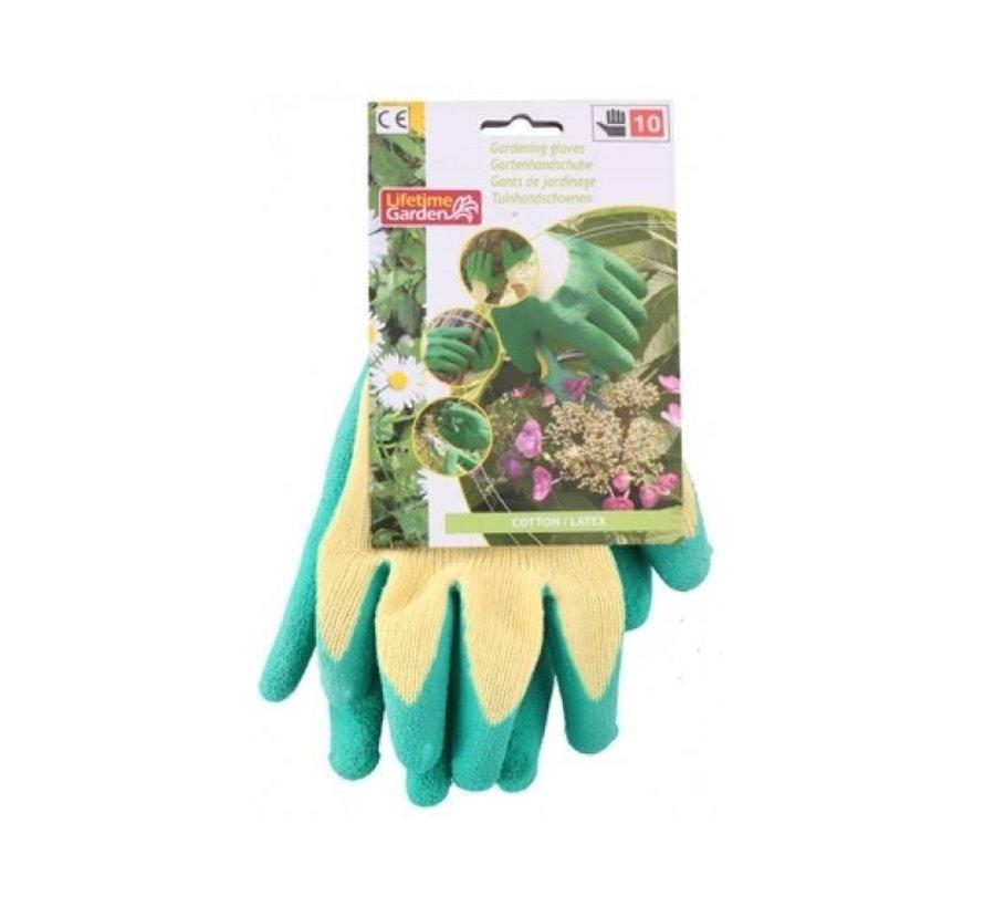 Gants de jardinage avec latex