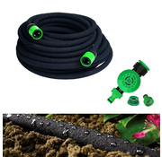 Kinzo Drip hose 15 meters with water timer for automatic spraying