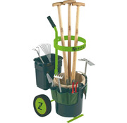 Zipper Universal garden cart for garden tools