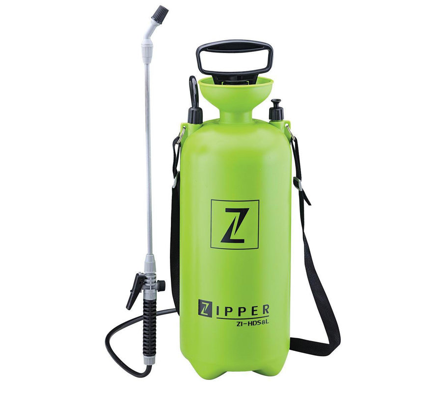 Pressure sprayer 8 L with carrying strap