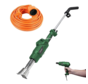 Electric weed burner - 3 in 1 - 2000 watts with 10 meter extension cord