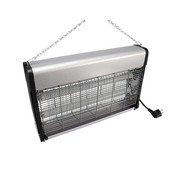 Electric insect killer 2x 15 watt fly lamp