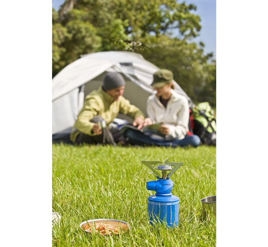 Twister Plus camping cooker with C206 gas cylinder
