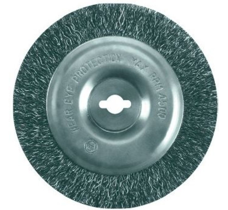 Metal brush for the GFR 140 weed brush