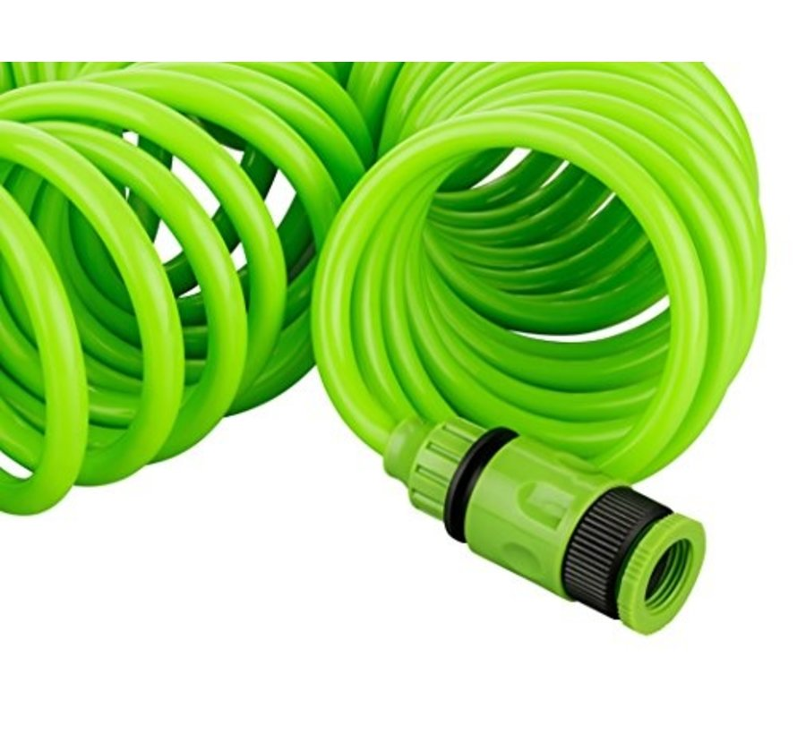 Spiral hose 15 meters with free spray gun