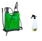 Eurom Backpack 1809 back sprayer - backed weed sprayer 18 liters with FREE plant sprayer