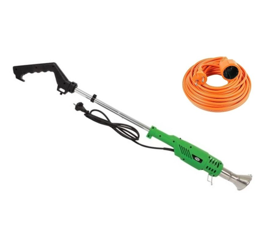 VL108 Electric weed burner - 2000W - with 10 meter extension cord