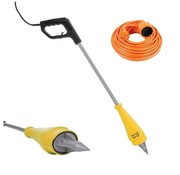 Toolland VL106 electric dandelion plug - weed burner - with 10 meter extension cord