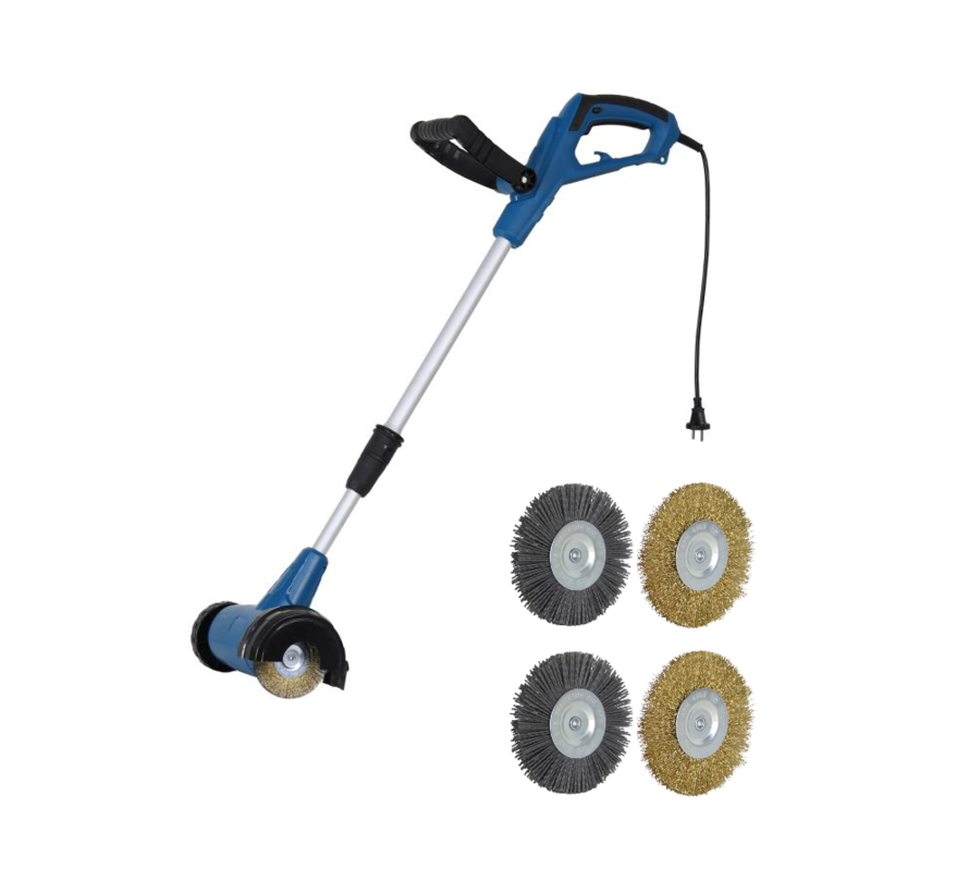 Electric joint brush EFB-675 - weed brush - with two free brushes - Copy