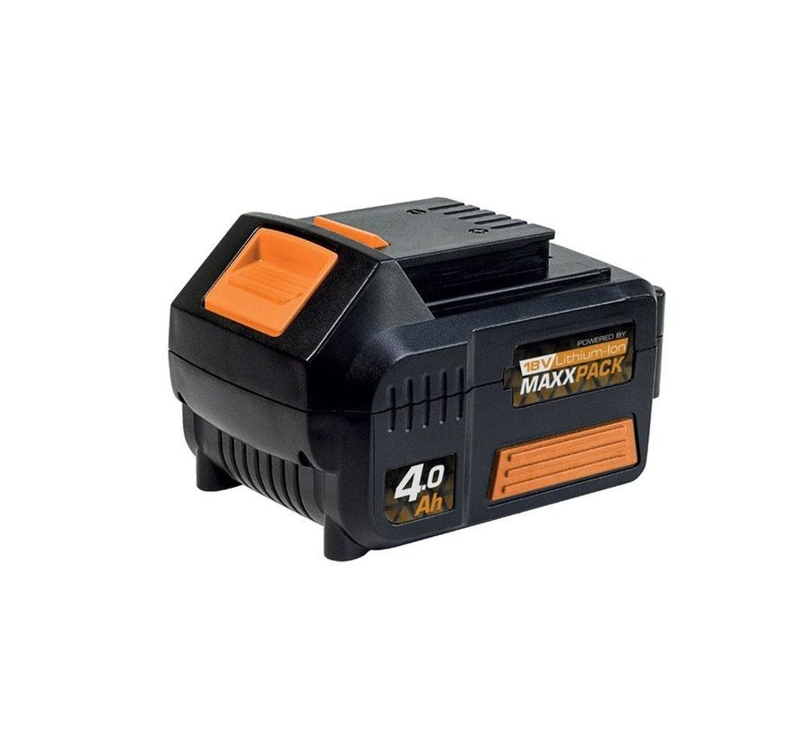18V accu grastrimmer MaxxPack Collection + 4.0 Ah accu & 2.4 Ah oplader