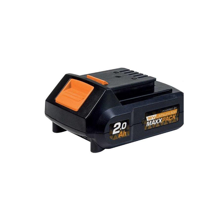 Batterie 18V 2.0Ah pour la collection MAXXPACK