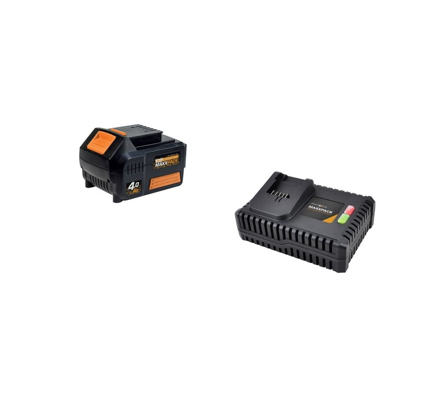 4.0 Ah LI-ION battery + charger (placeholder)