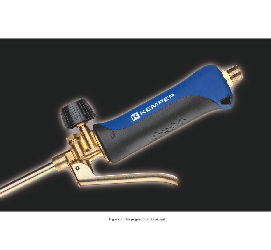 Gas-Unkrautbrenner mit Doppelbrennerkopf