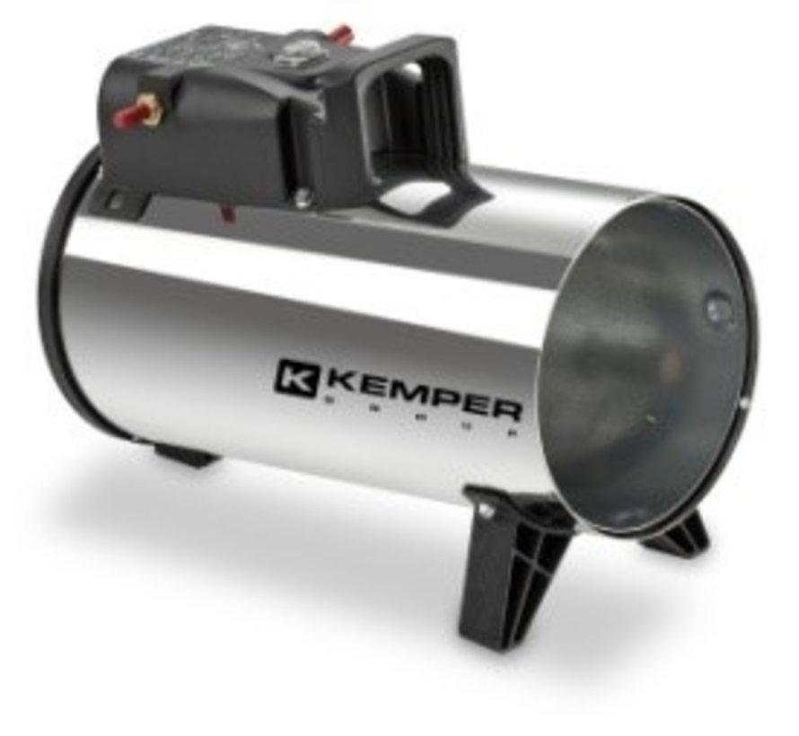 Canon à air chaud électrique 10 kWh / 65311 INOXD