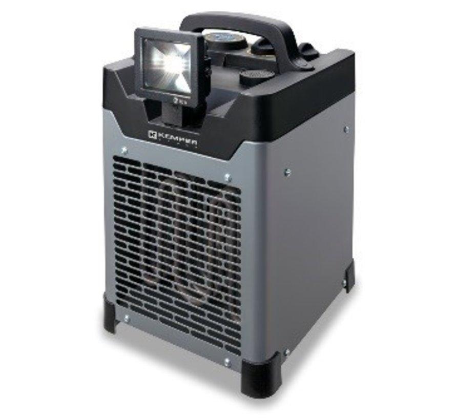 Générateur à air chaud 1500-3000W avec éclairage LED 65330EL