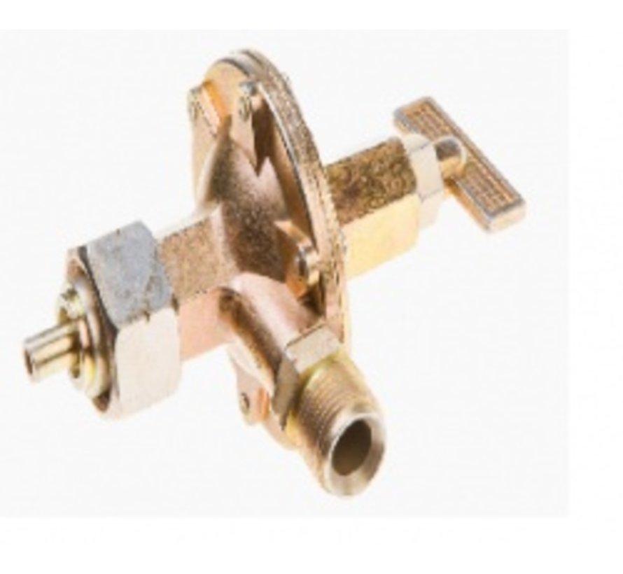 Régulateur de pression Topex gaz 4 bar 44E130 pour désherbeur