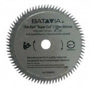 Batavia Lame de scie HSS Ø 85 mm. 80 Dents - 2 pièces - MAXX SAW & XXL SPEED SAW