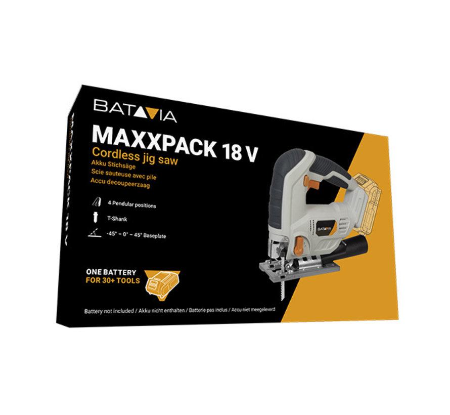 Scie sauteuse sans fil 18V Li-Ion Collection Maxxpack