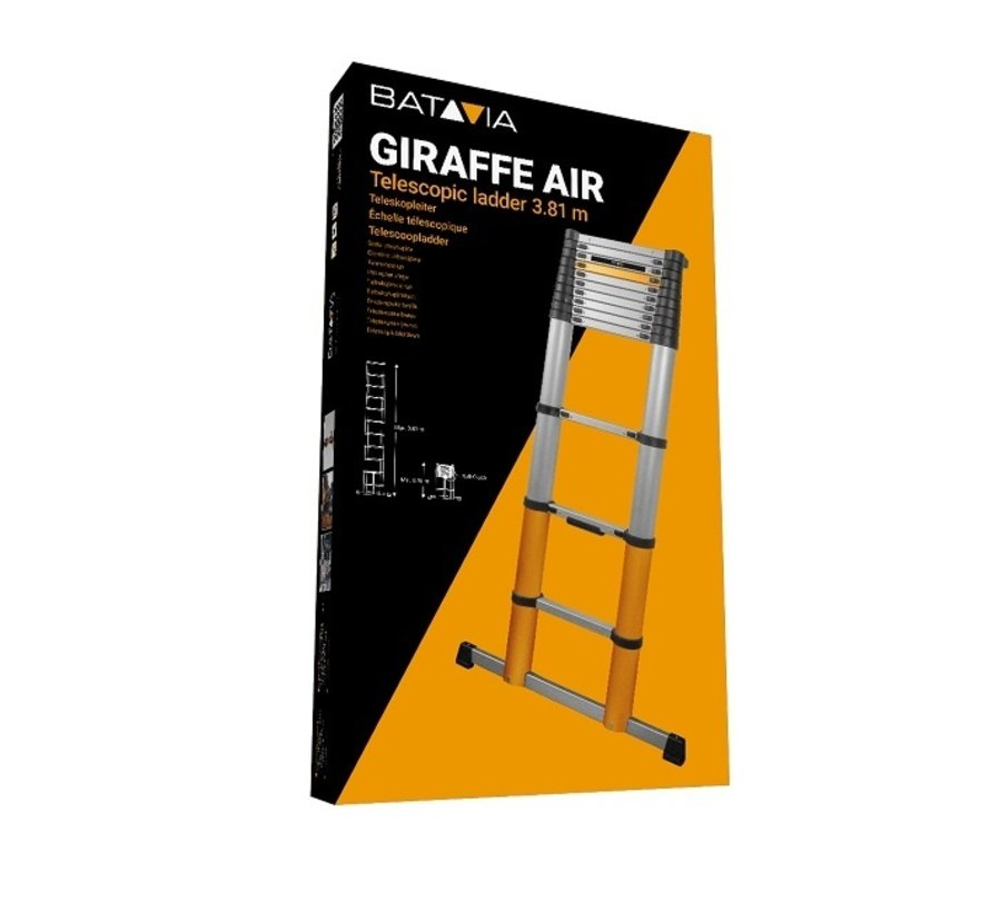 Batavia telescopische ladder 3,81 meter giraffe Air