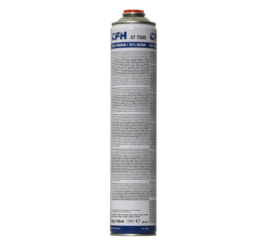 Neuer Gaskanister AT 7500 XL 750 ml mit Gewindeanschluss