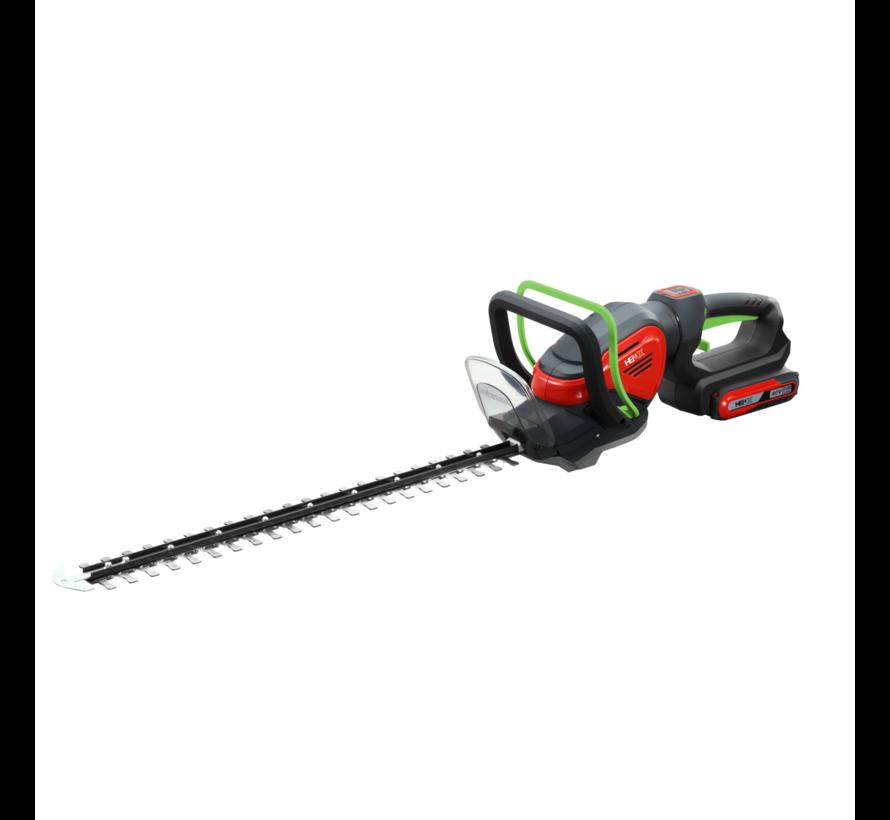 40V Heckenschere  + 5.0 Accu & Schnelladegerät
