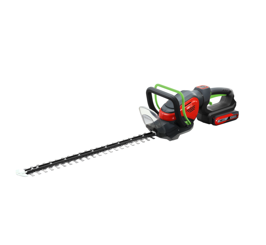 Taille-haie 40V + 5.0 Batterie & Chargeur rapide