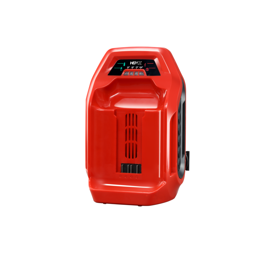 40V Grastrimmer met handvaten + 5.0 Accu & Snellader