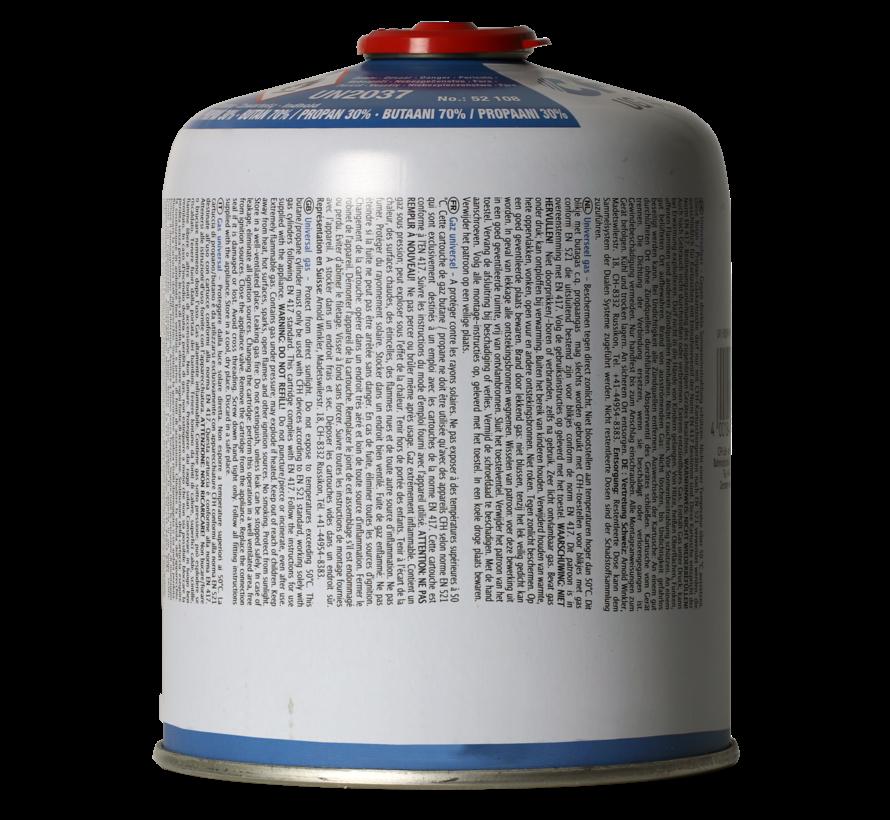 440 gram mix Butaan/ propaan  met schroefdraad verbinding